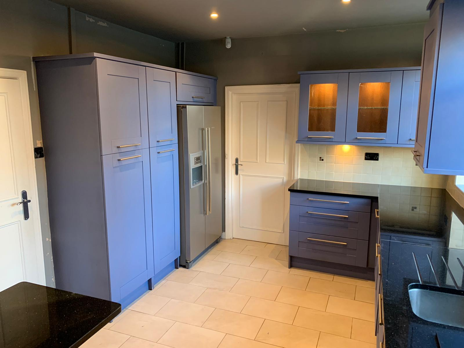 Respray Kitchen Cupboards